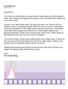 Tooth Fairy Letter Castle Building