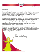 Tooth Fairy Letter Skeptical Kid